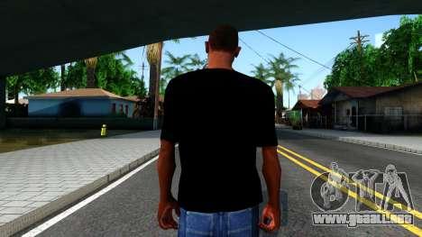 Apple T-shirt para GTA San Andreas tercera pantalla