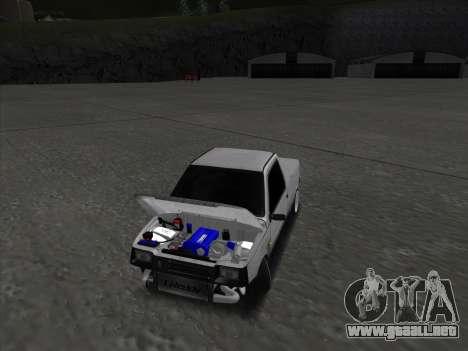 VAZ 1111 Drift para visión interna GTA San Andreas