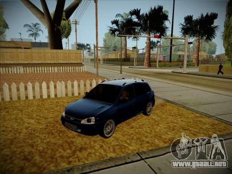 VAZ Kalina 1117 Carelio Edición para GTA San Andreas