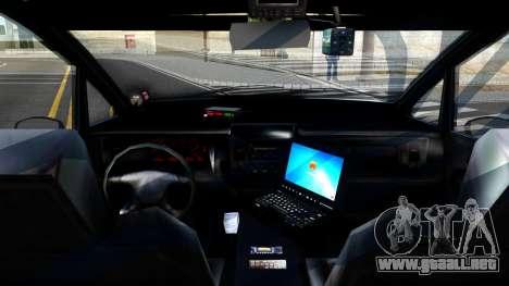 2010 Dinka Perennial Unmarked para GTA San Andreas vista hacia atrás