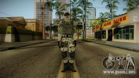 Resident Evil ORC Spec Ops v3 para GTA San Andreas segunda pantalla