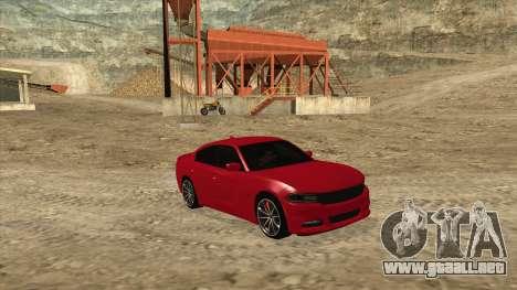 Dodge Charger R/T 2015 para la visión correcta GTA San Andreas