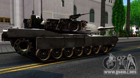M1A1 Abrams COD4MW Remastered para visión interna GTA San Andreas