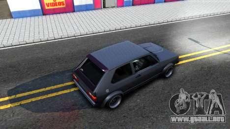 VW Golf Mk1 GTI Stance para visión interna GTA San Andreas