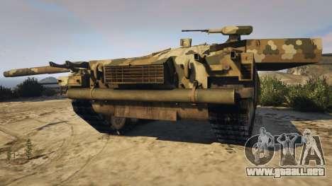 GTA 5 T-100 Varsuk vista trasera