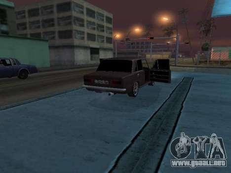 VAZ 2101 armenia para GTA San Andreas interior