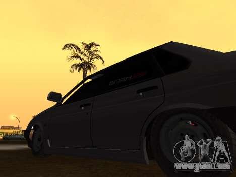 VAZ 21099 BPAN para GTA San Andreas vista hacia atrás