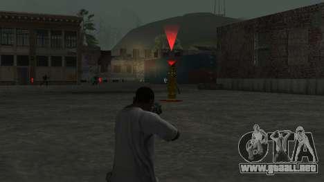 Five Nights At Freddys para GTA San Andreas sucesivamente de pantalla