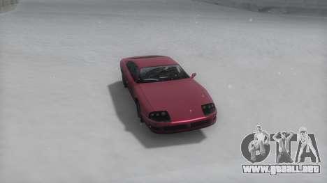 Jester Winter IVF para GTA San Andreas vista posterior izquierda