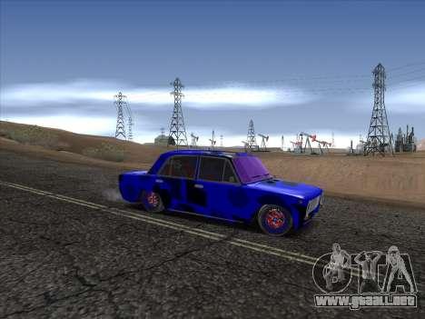 VAZ 2101 BC para GTA San Andreas vista hacia atrás