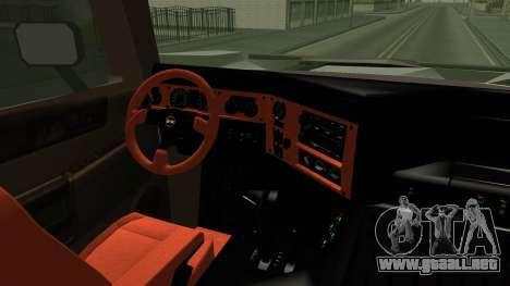 Hummer H2 6x6 Monster para visión interna GTA San Andreas