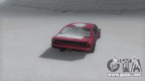 Emperor Winter IVF para GTA San Andreas left