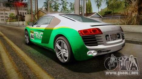 Audi R8 Coupe 4.2 FSI quattro EU-Spec 2008 para las ruedas de GTA San Andreas