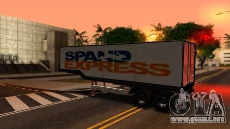 Box Trailer V2 para GTA San Andreas left
