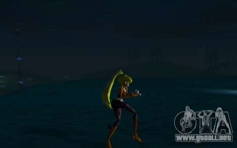 Stella Rock Outfit from Winx Club Rockstars para GTA San Andreas sucesivamente de pantalla