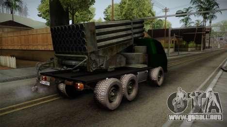 TAM 110 Serbian Military Vehicle para GTA San Andreas left