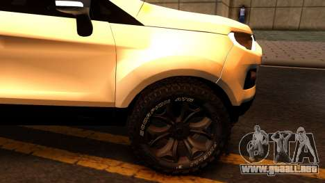 Ford EcoSport 2016 para visión interna GTA San Andreas
