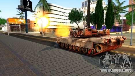 M1A1 Abrams COD4MW Remastered para la visión correcta GTA San Andreas