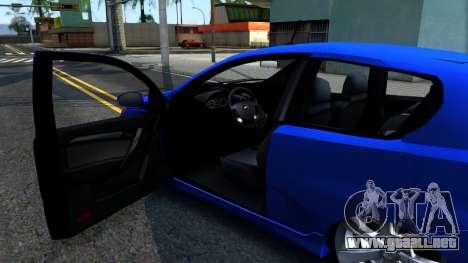 Chevrolet Aveo 2012 para visión interna GTA San Andreas