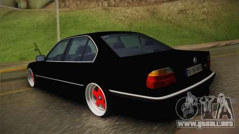 BMW 7 Series E38 Low para GTA San Andreas left