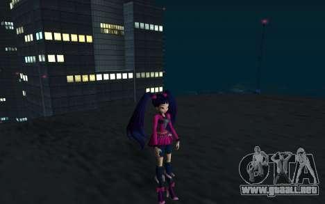 Musa Rock Outfit from Winx Club Rockstars para GTA San Andreas