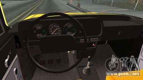 AZLK 412 para visión interna GTA San Andreas