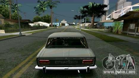 Brillante timecyc para GTA San Andreas sucesivamente de pantalla