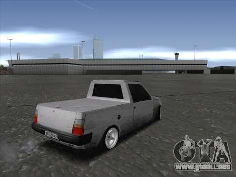 VAZ 1111 Drift para GTA San Andreas vista posterior izquierda