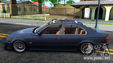 BMW e39 530d para GTA San Andreas left