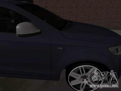 Audi Q7 Armenian para la visión correcta GTA San Andreas