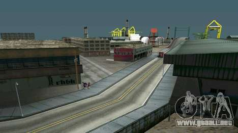 Brillante timecyc para GTA San Andreas tercera pantalla