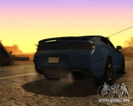 Chevrolet Camaro SS Xtreme para GTA San Andreas left