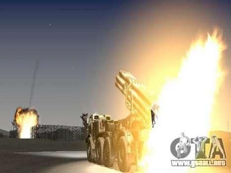 9К57 Huracán para GTA San Andreas