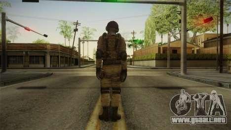 Resident Evil ORC - USS v1 para GTA San Andreas tercera pantalla