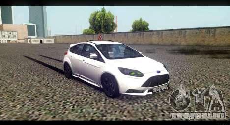 Ford Focus ST 2013 Formación para la visión correcta GTA San Andreas