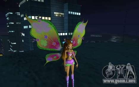 Flora Believix from Winx Club Rockstars para GTA San Andreas
