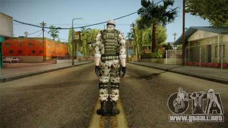 Resident Evil ORC Spec Ops v3 para GTA San Andreas tercera pantalla