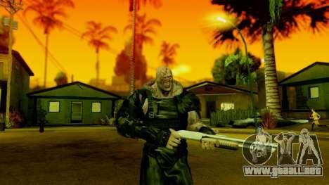 Resident Evil ORC - Nemesis para GTA San Andreas