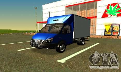 Gazel 3302 Negocio para GTA San Andreas left