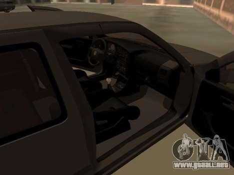 Volkswagen Golf 3 para visión interna GTA San Andreas