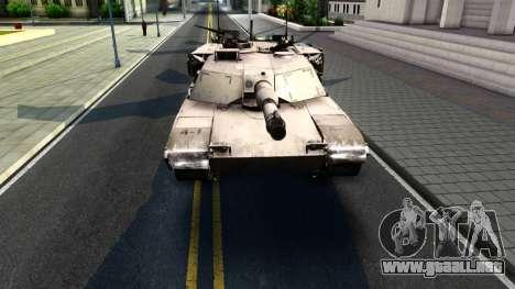 M1A1 Abrams COD4MW Remastered para GTA San Andreas left