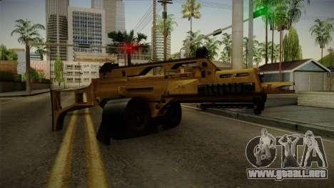 HK G36C v2 para GTA San Andreas segunda pantalla