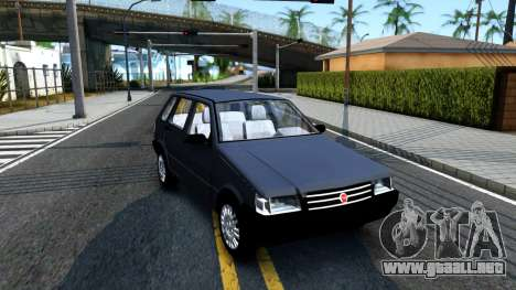 Fiat Uno Fire Mille V1.5 para GTA San Andreas left