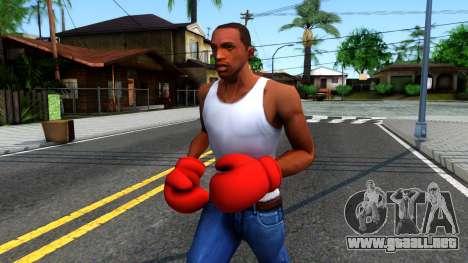 Red Boxing Gloves Team Fortress 2 para GTA San Andreas