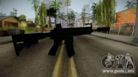 HK416 v3 para GTA San Andreas segunda pantalla