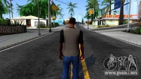 Regular Show T-shirt para GTA San Andreas tercera pantalla
