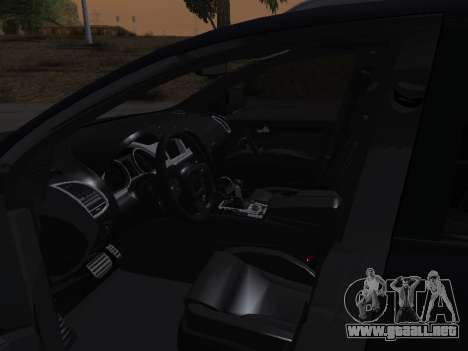 Audi Q7 Armenian para vista inferior GTA San Andreas