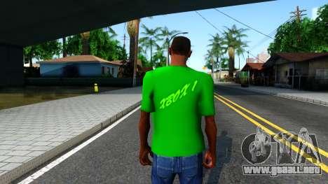 T-Shirt Xbox1 para GTA San Andreas tercera pantalla