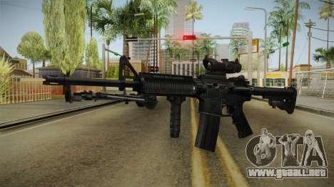 M4A1 ACOG para GTA San Andreas segunda pantalla