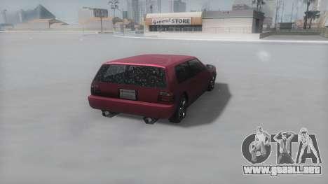 Flash Winter IVF para la visión correcta GTA San Andreas